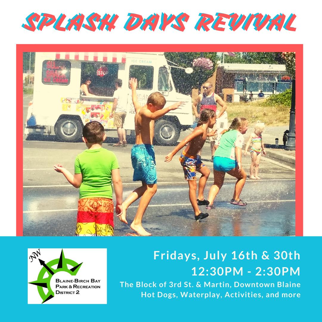 Splash days revival FB & IG